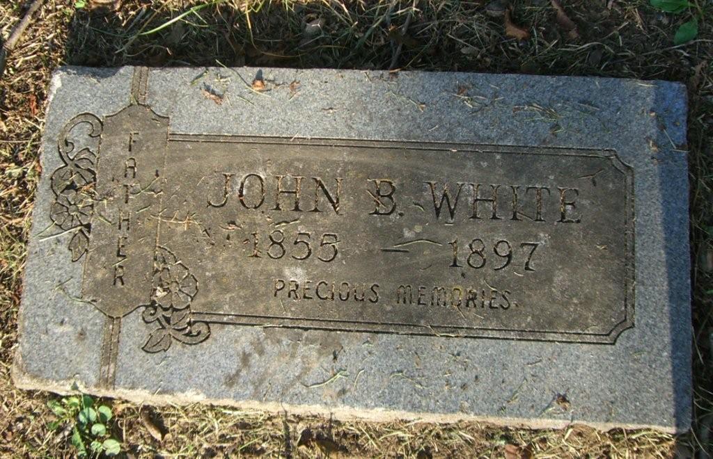 John B White