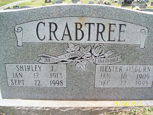 Shirley Crabtree