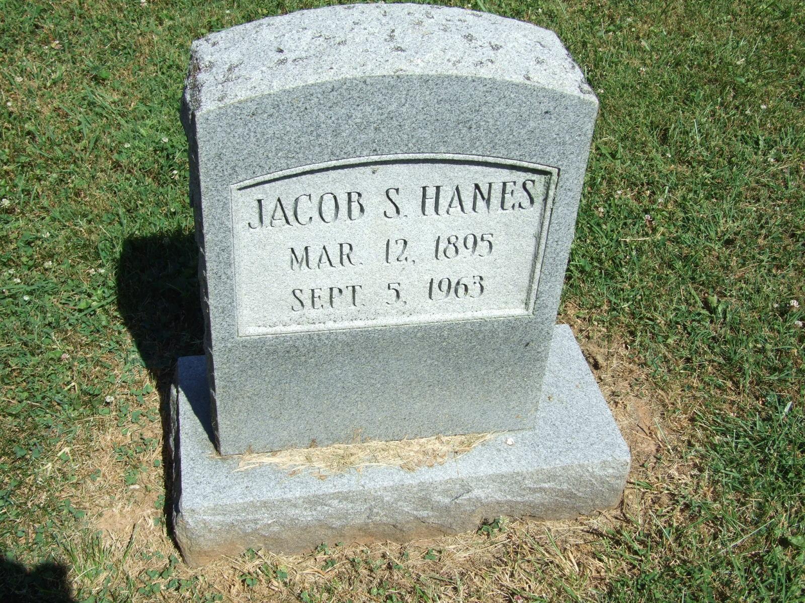 Jacob Francis Hanes