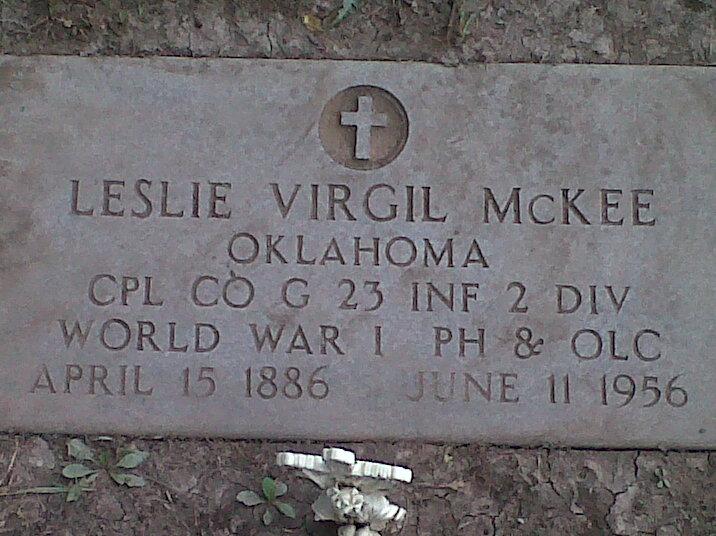 Leslie S Mckee
