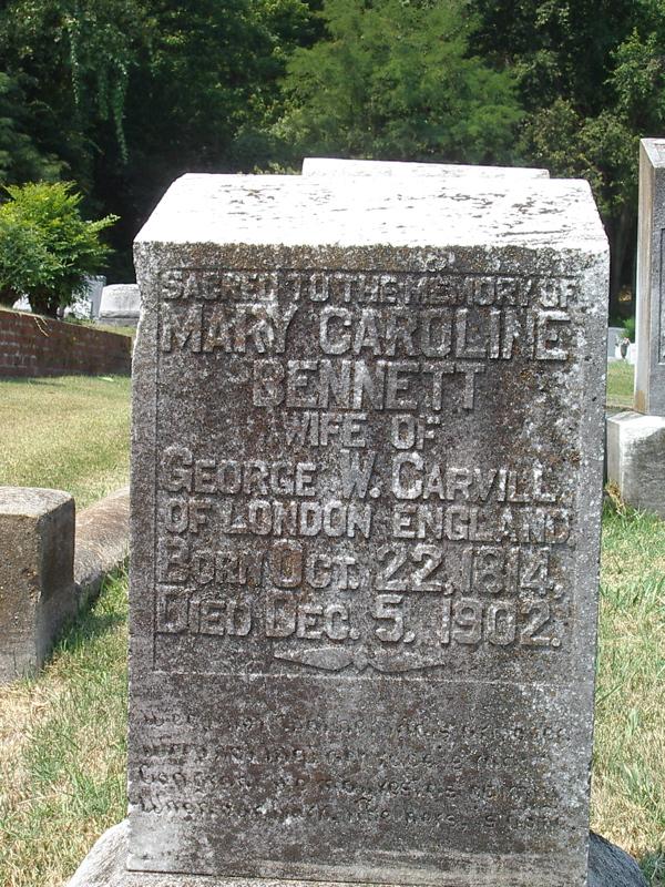 Mary Caroline Bennett