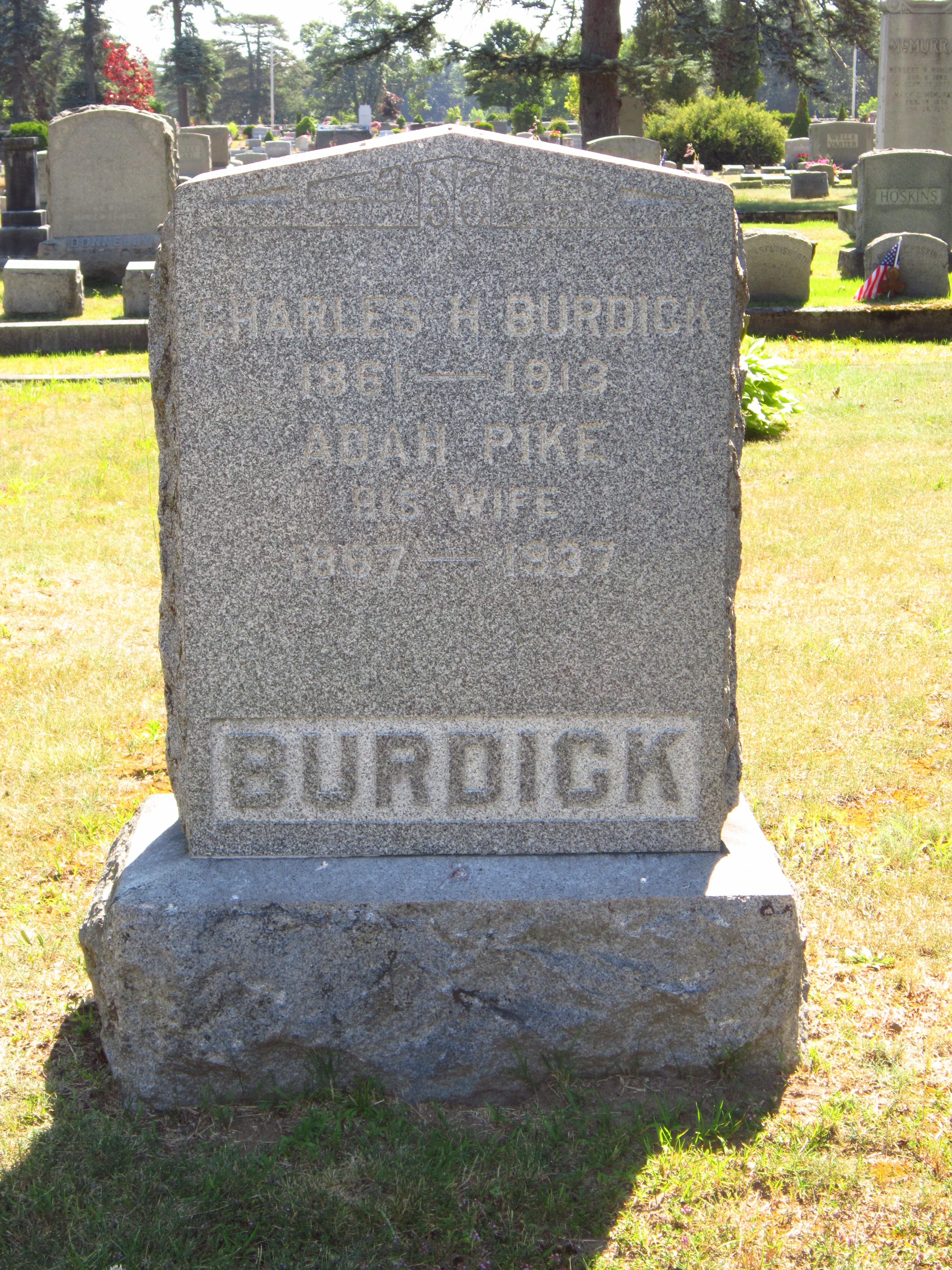 Charles H Burdick