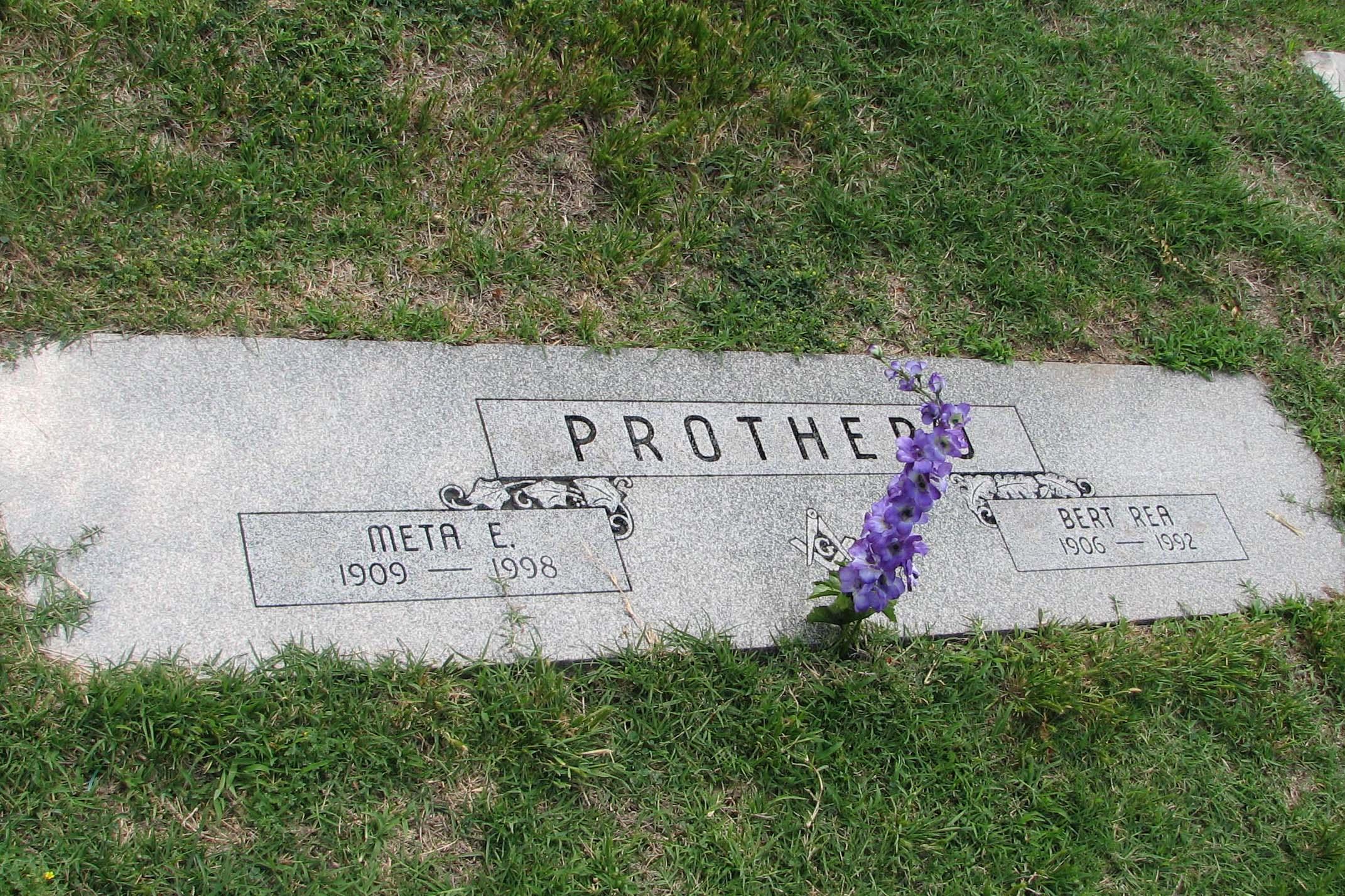 Bert Rea Prothero
