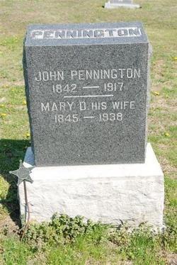 John F Pennington