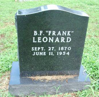 Benjamin Franklin Leonard