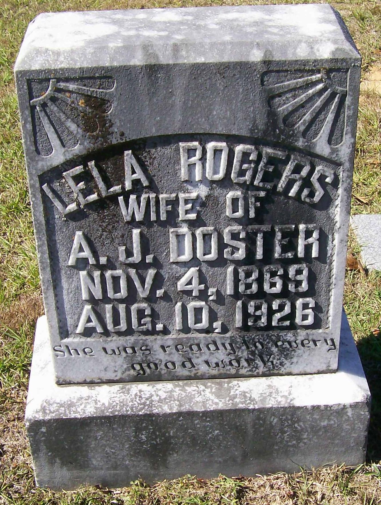 Lela Rogers