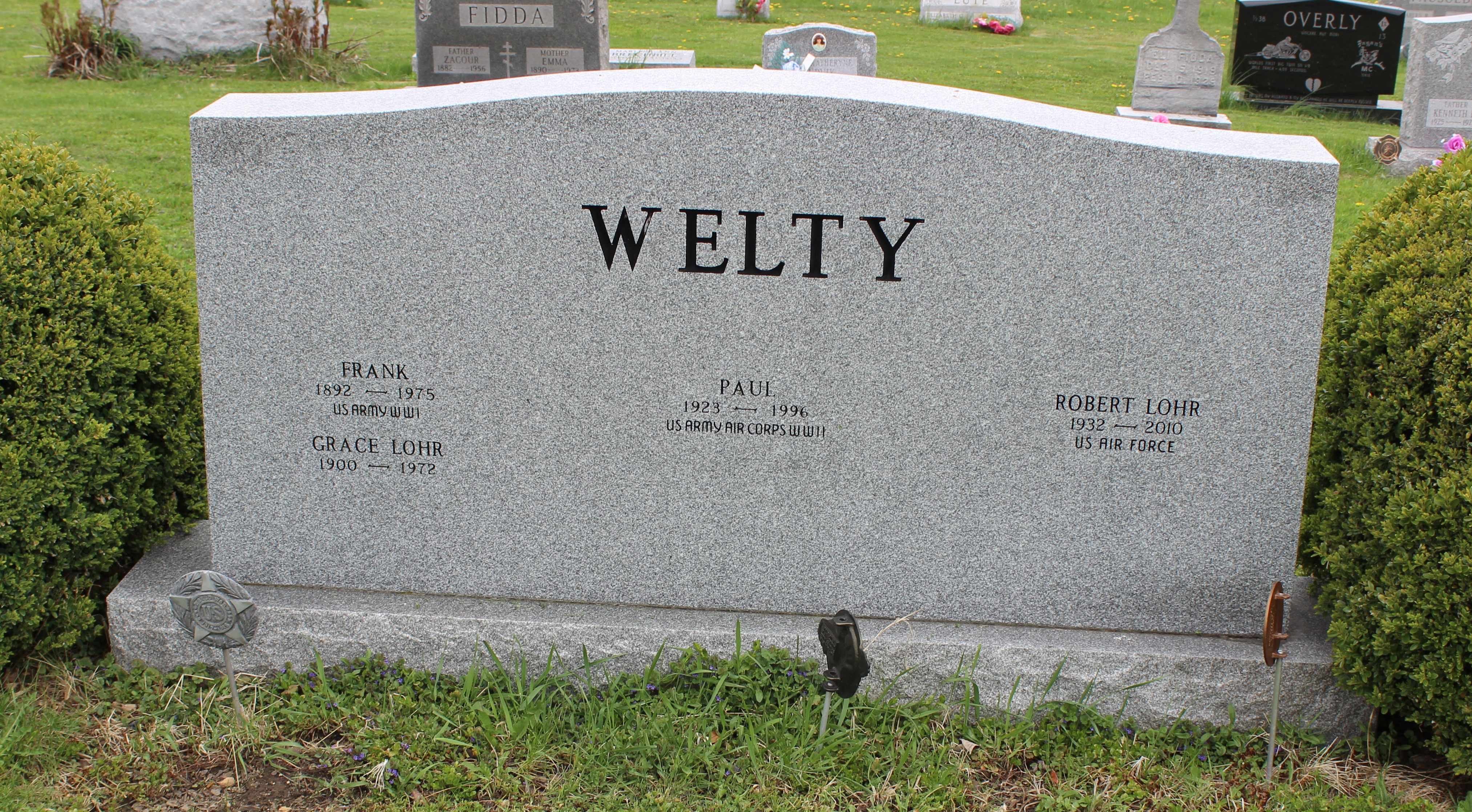 Frank Welty