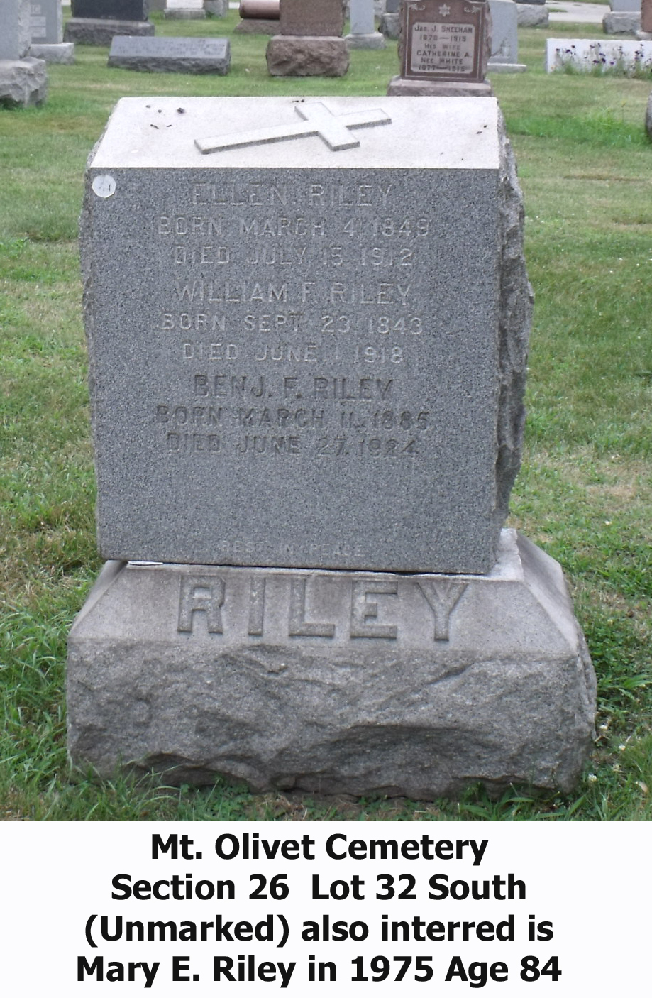 William F Riley