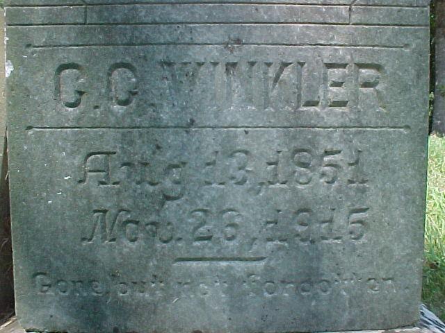 Christopher Columbus Winkler