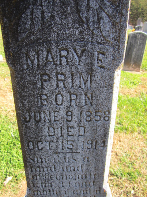 Mary A Coram
