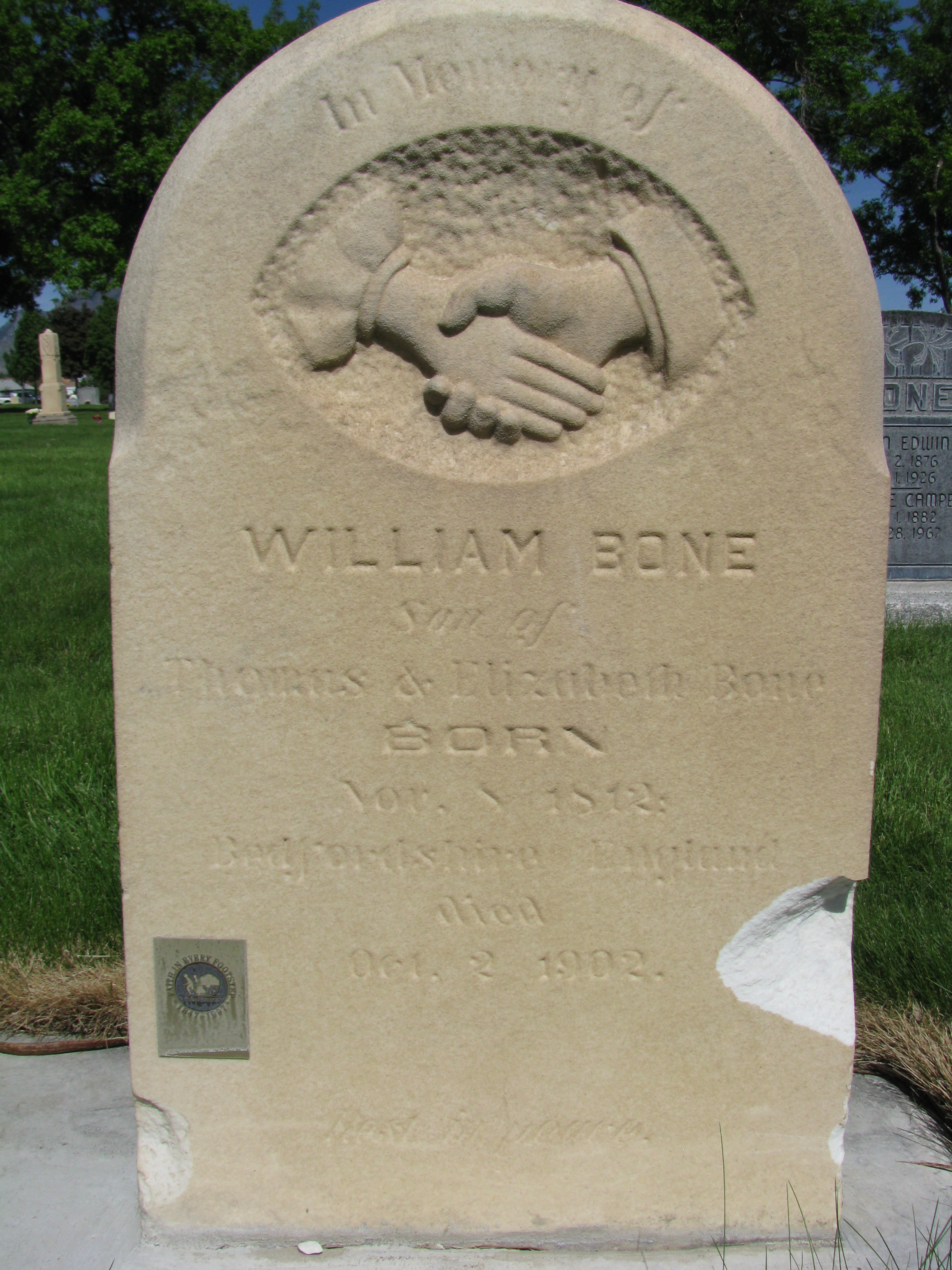 William B Bone