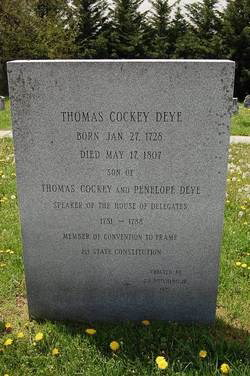 Charlotte Cockey Deye