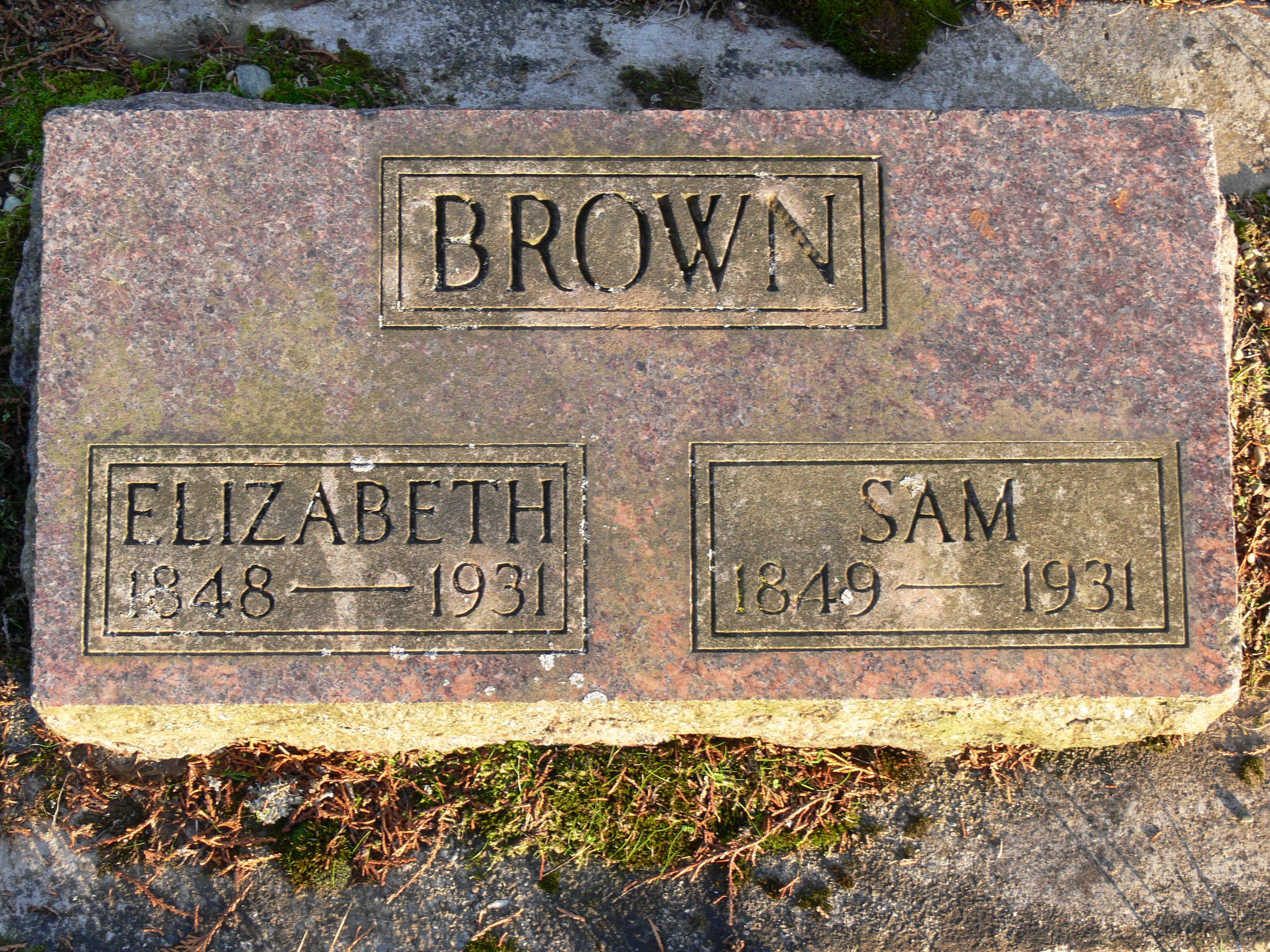 Samuel George Brown