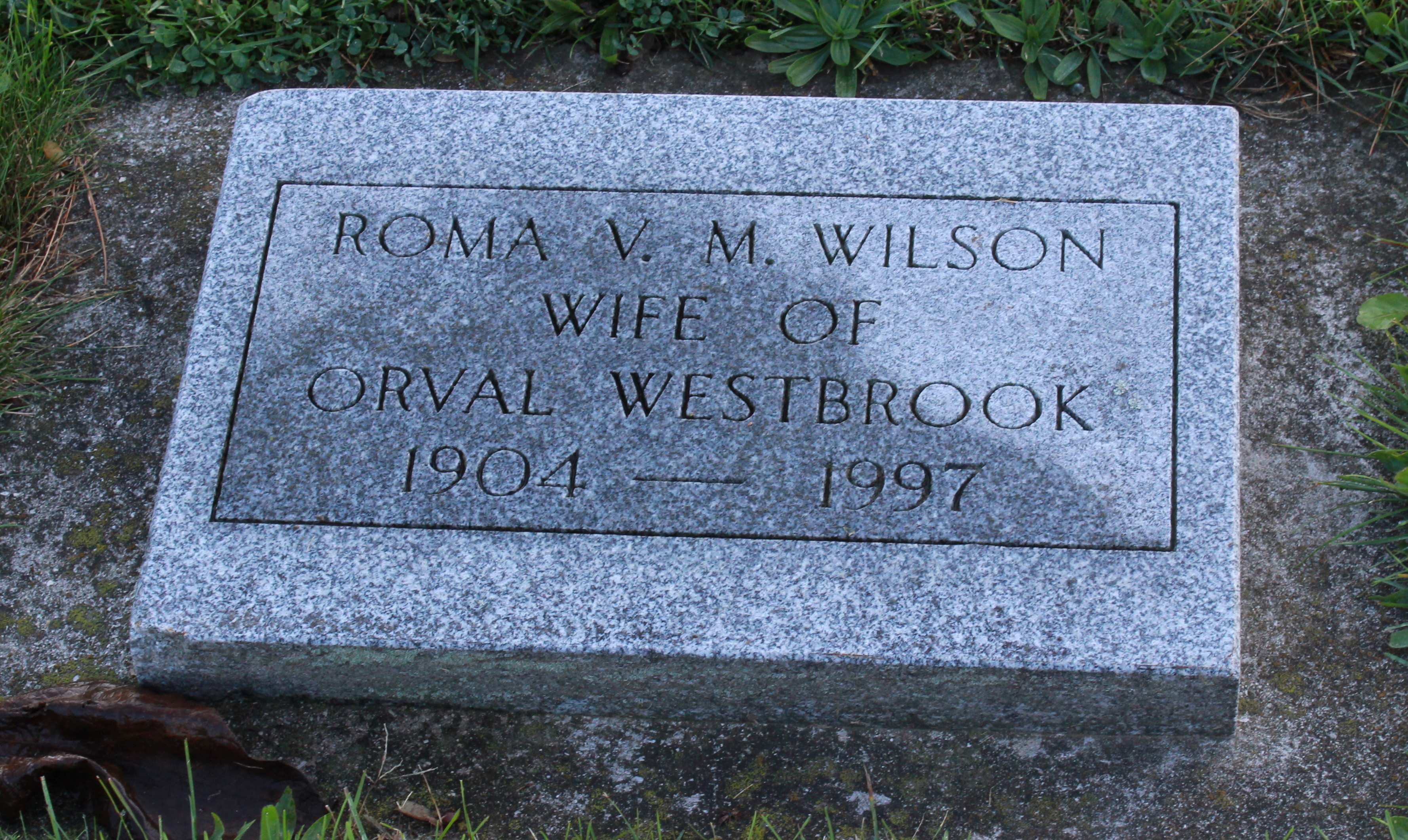 May Victoria Wilson