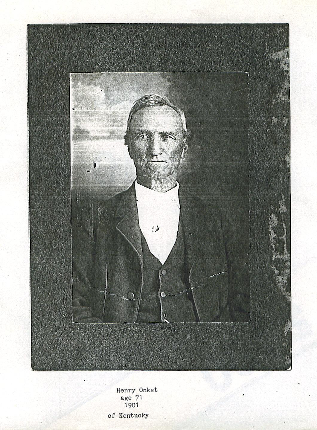 Henry Onkst