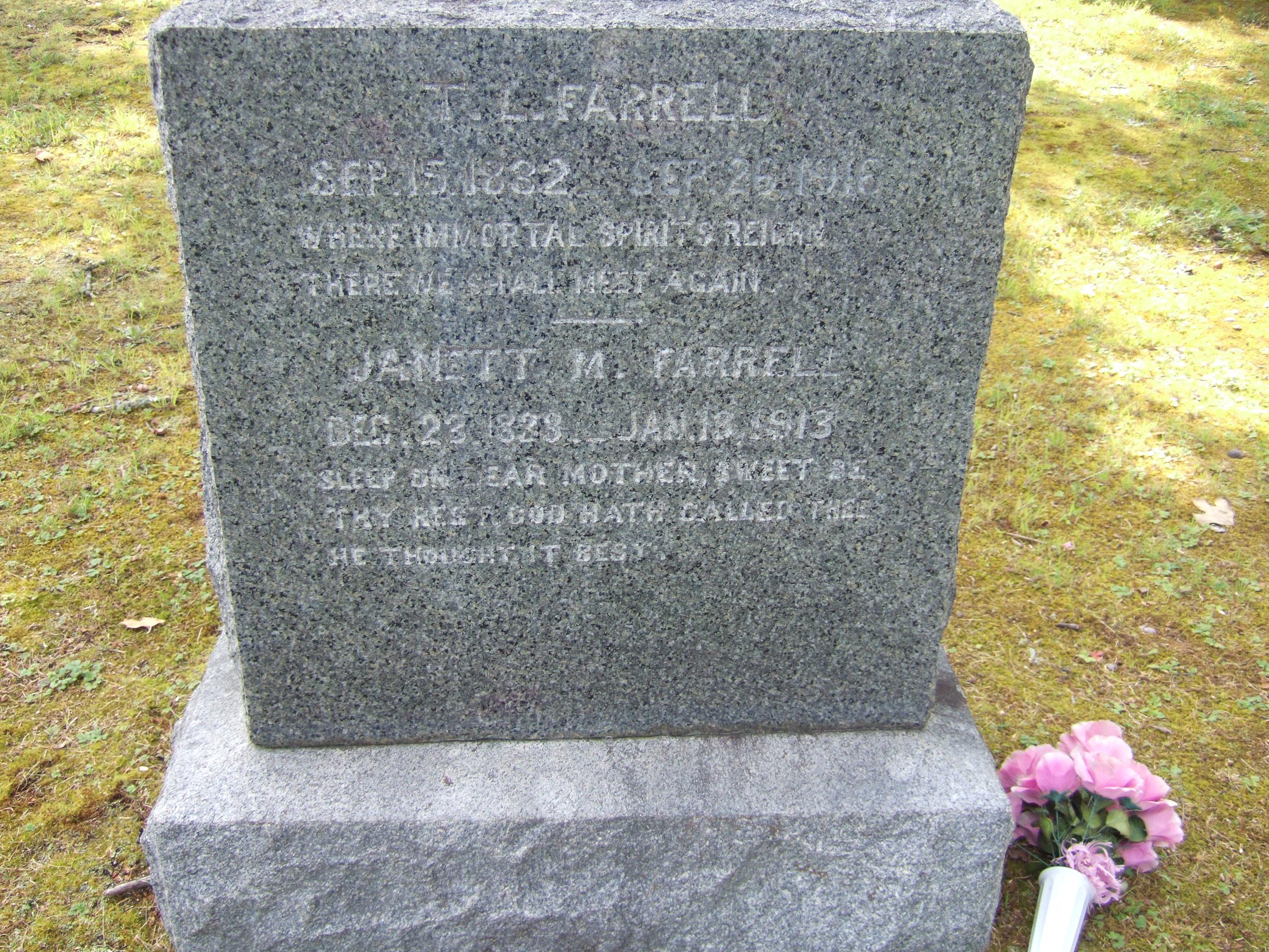 Theophils La Fayette Farrell