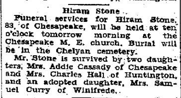 Hiram Stone