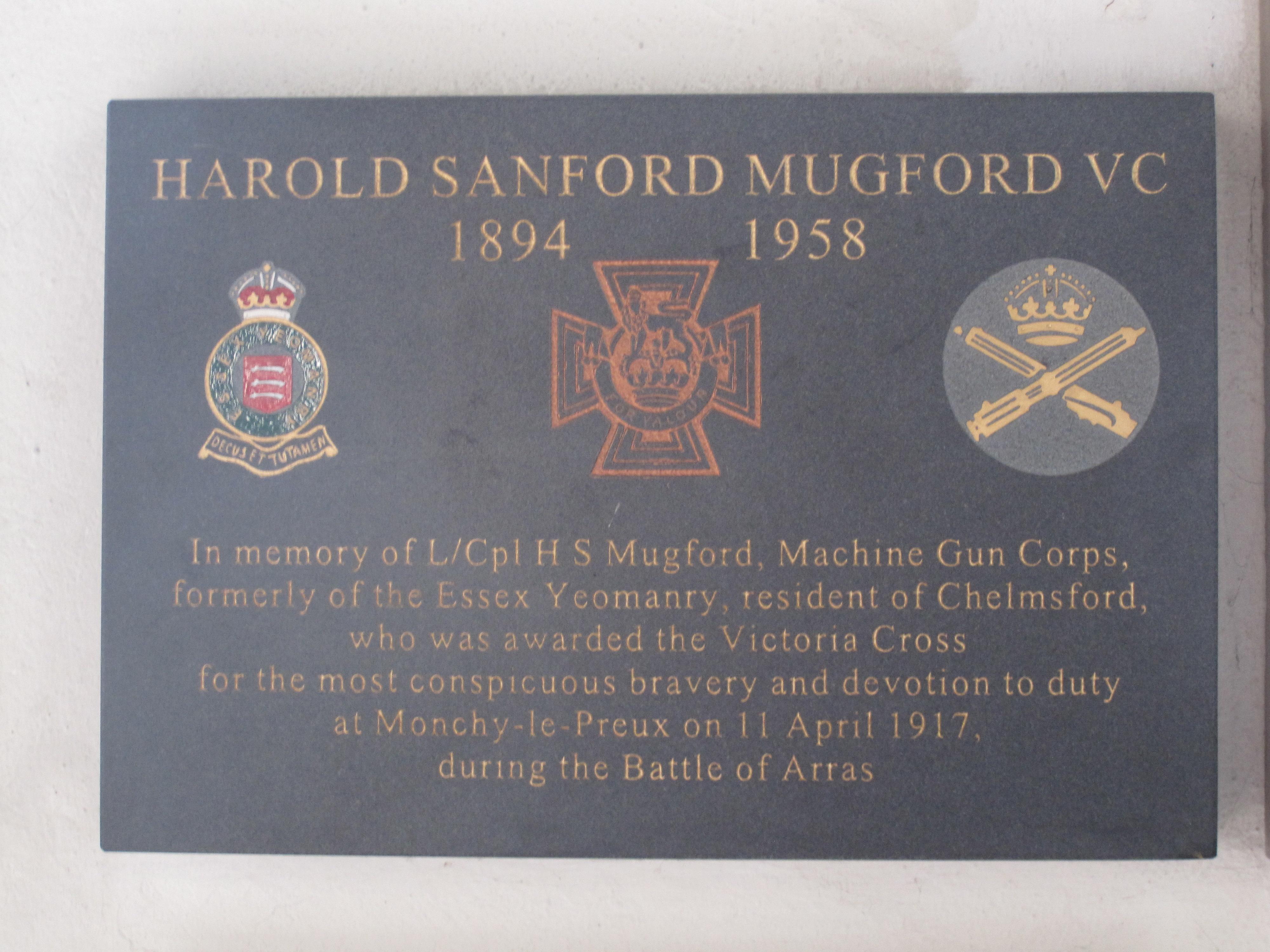 Harold Mugford