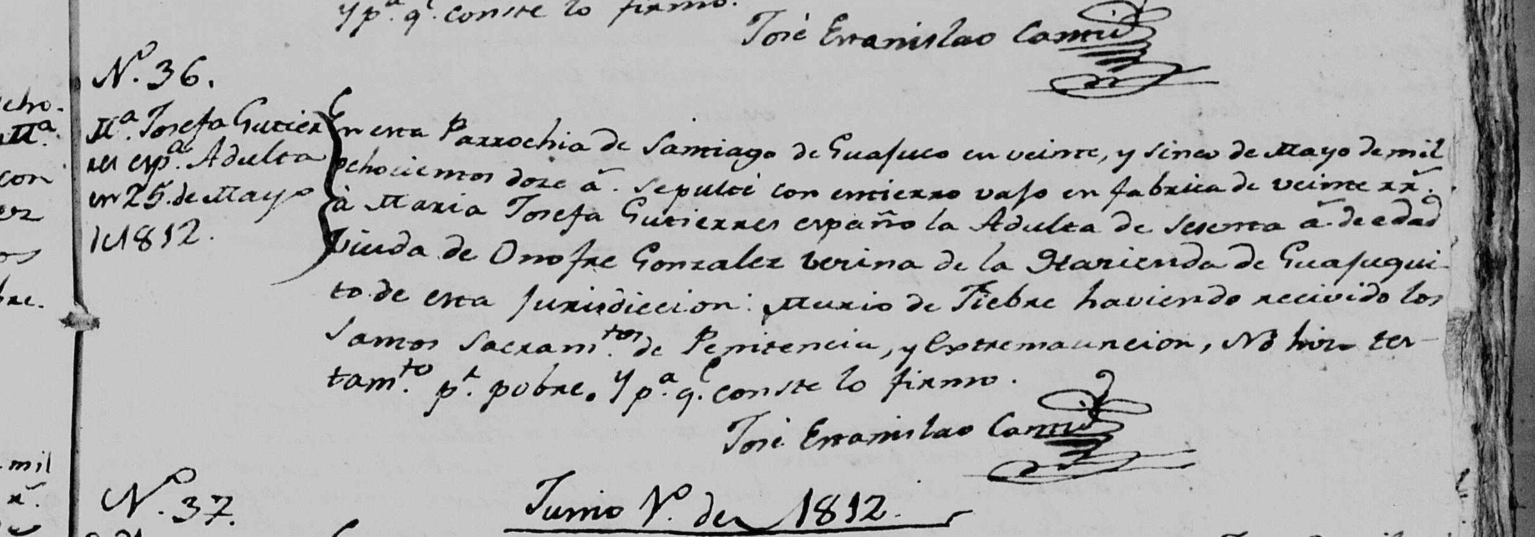 Maria Josefa Gutierrez Vergara