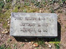 John Milton McDaniel