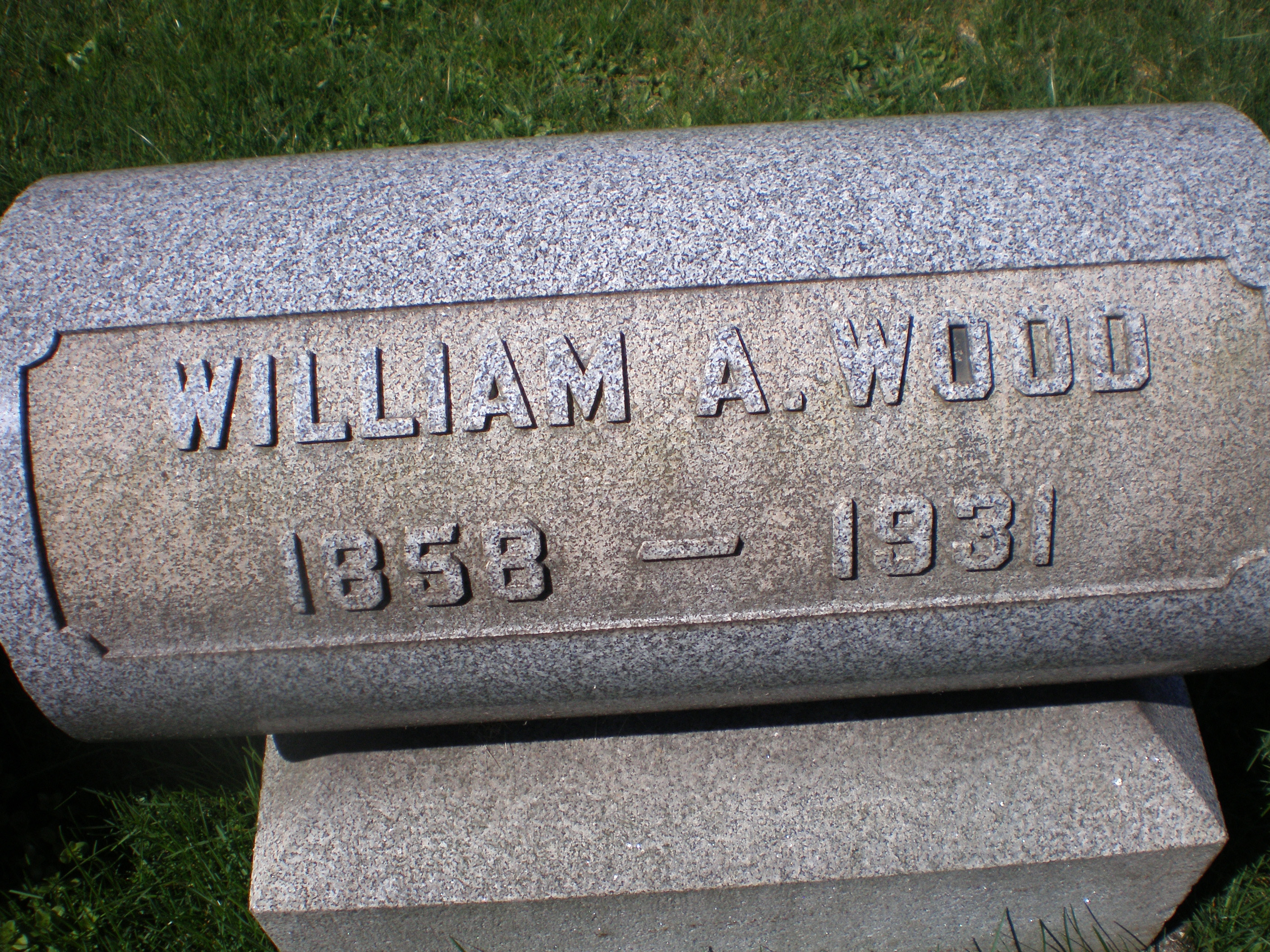William A Wood