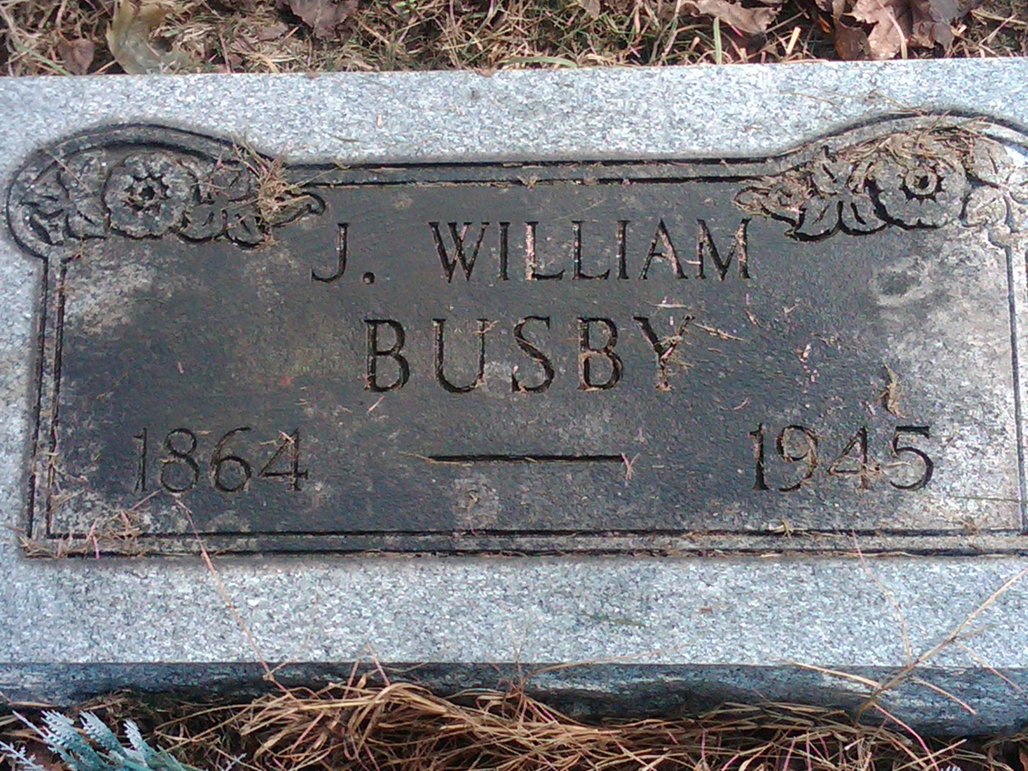 William H Busby