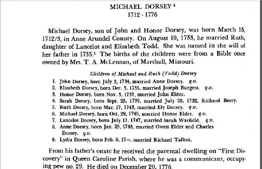 Mary Dorsey