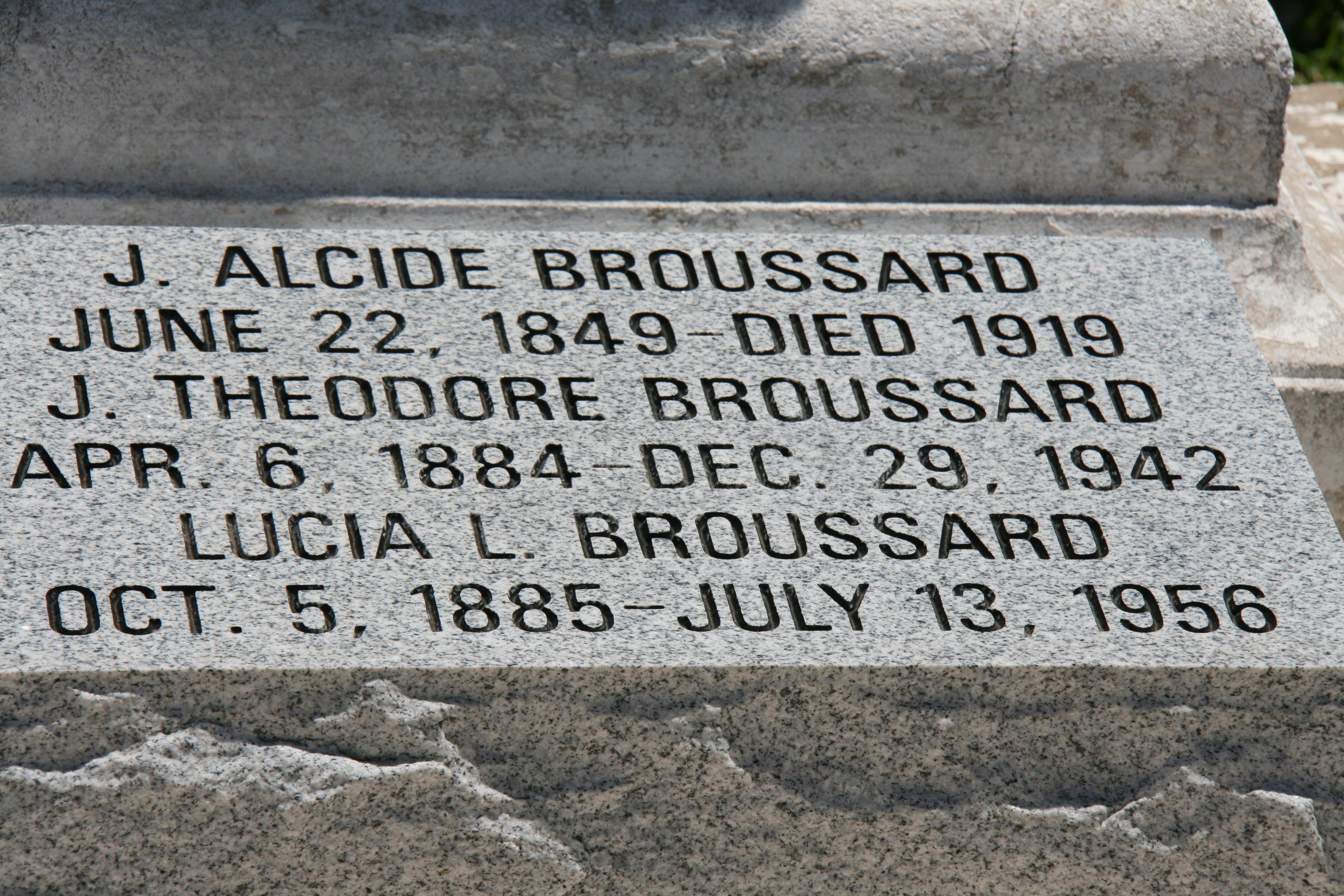 Joseph Alcide Broussard