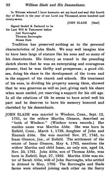 John Wilson Slade