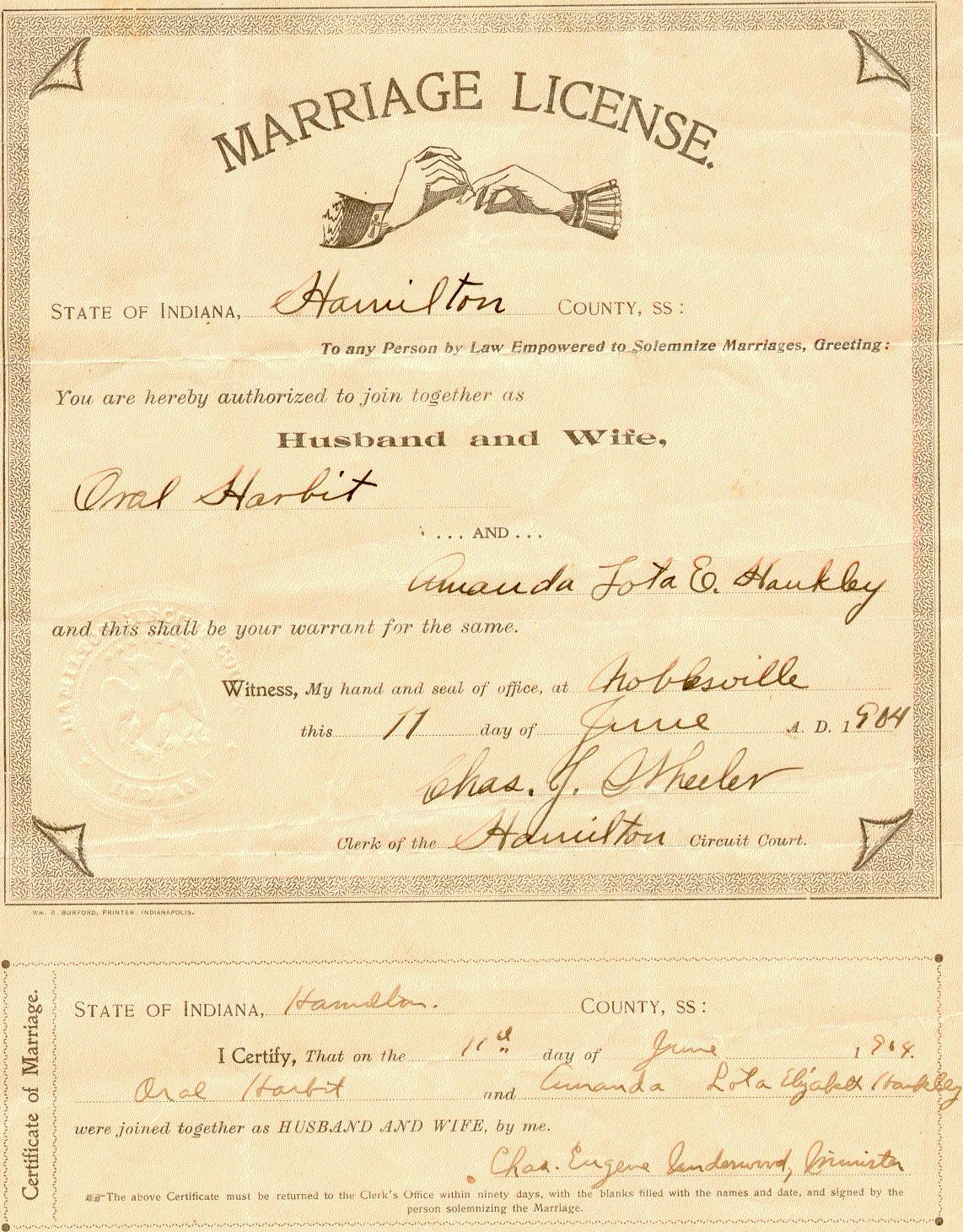 Andrew Jackson Harbit