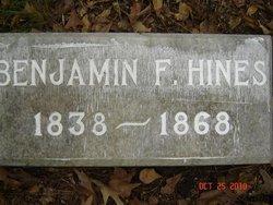 Benjamin Franklin Hines