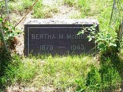 Margaret M Mcbride