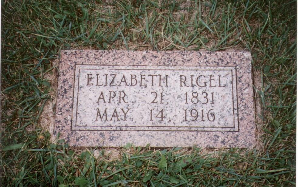 Elizabeth Rigel