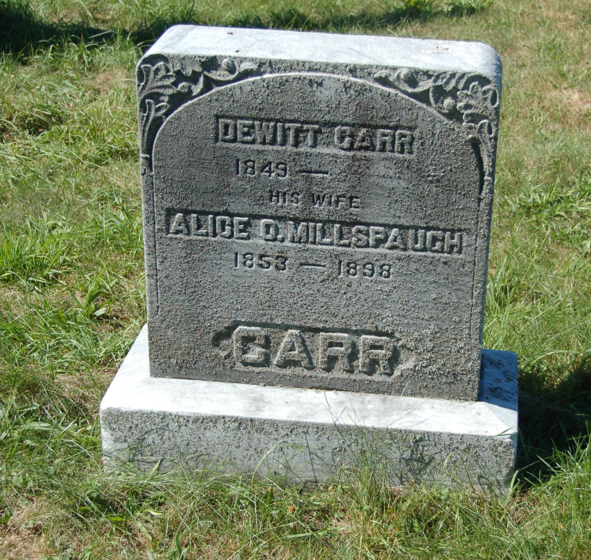 Dewitt Carr