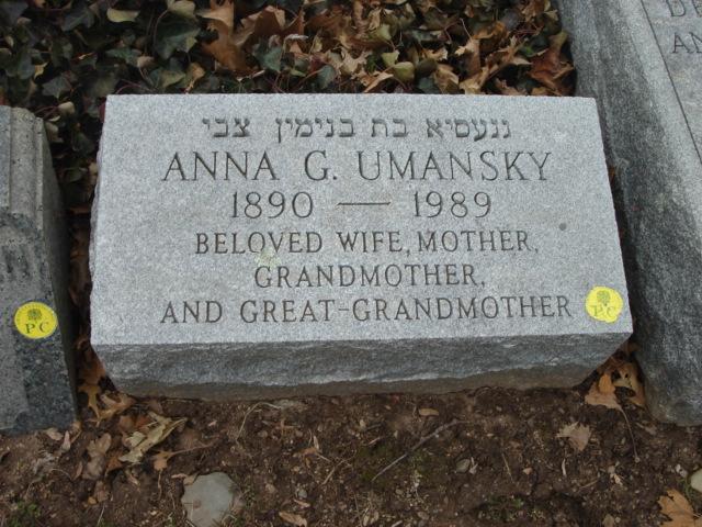 Fannie M Umansky