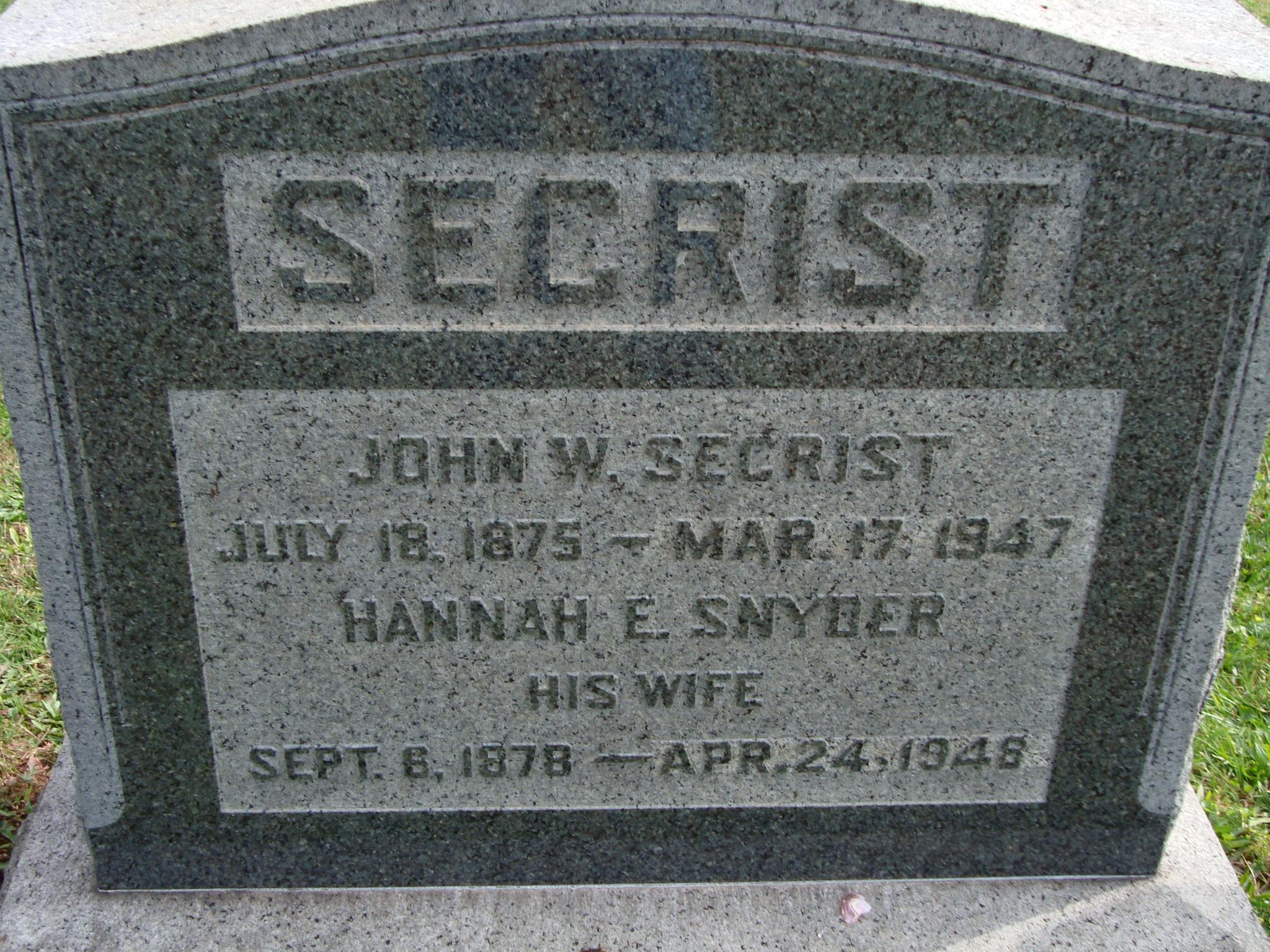 William Secrist