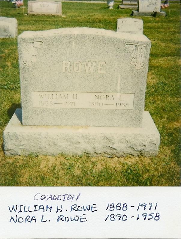George H Rowe