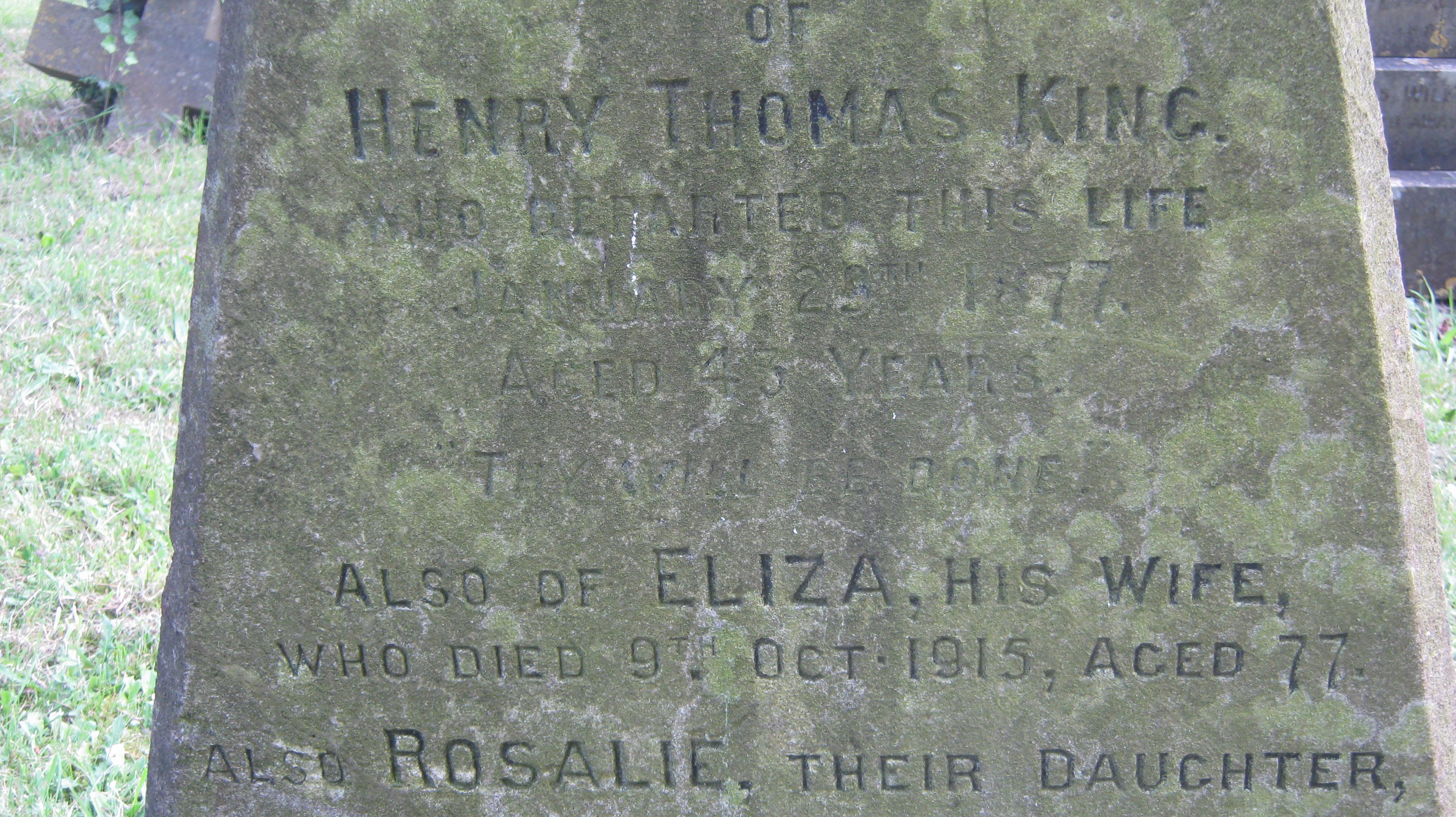 Rosalie King