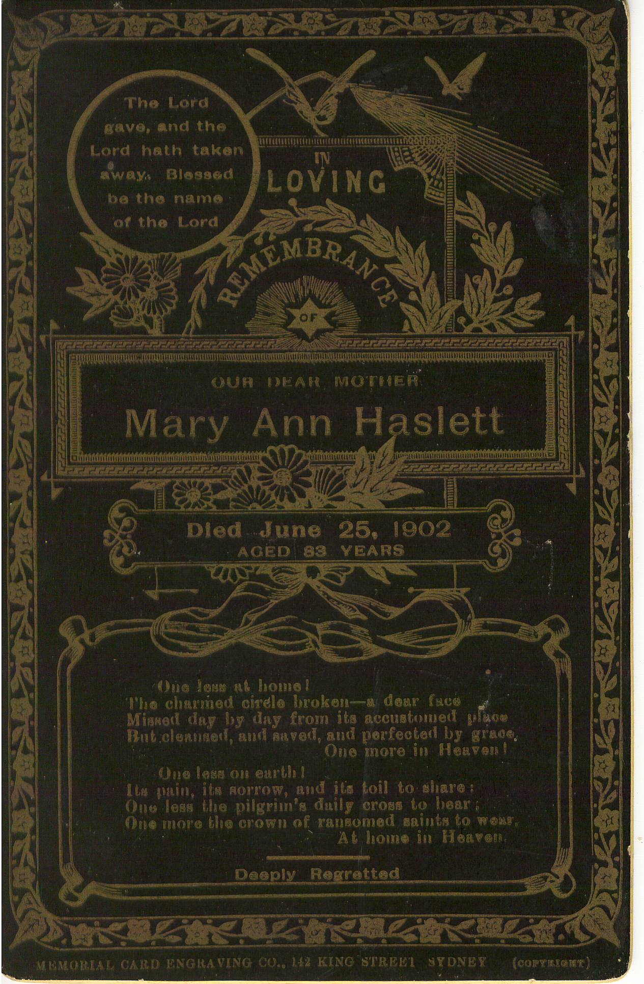 Mary Ann Hislet
