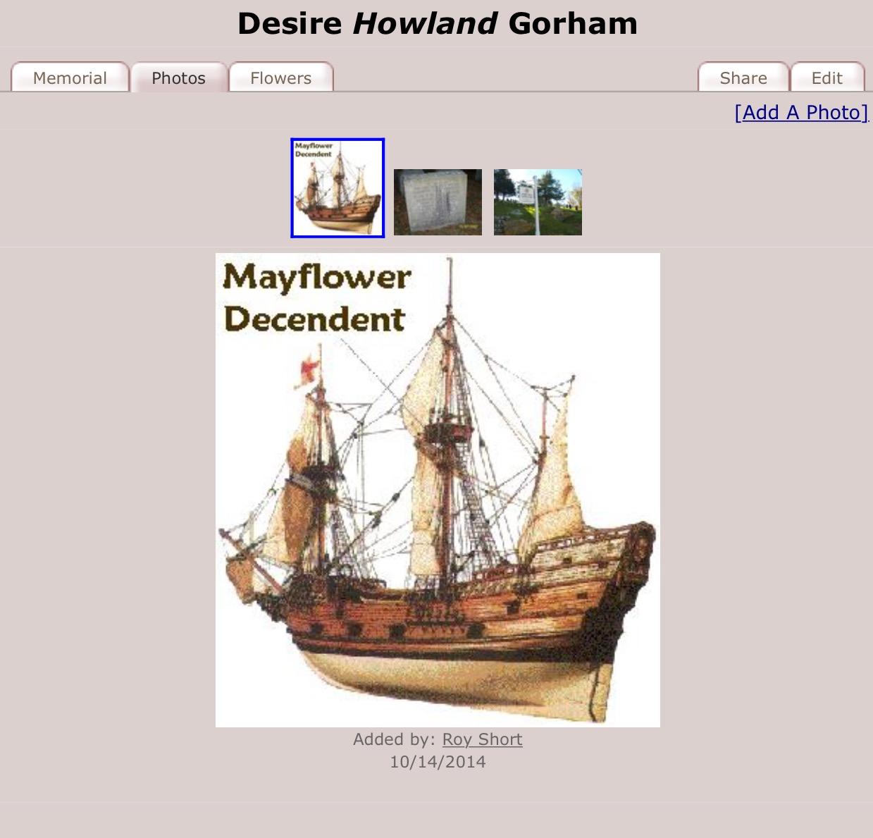 Desire Howland