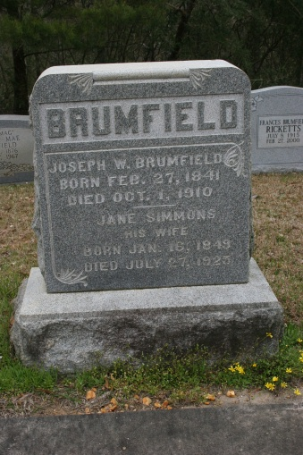 Joseph Warren Brumfield