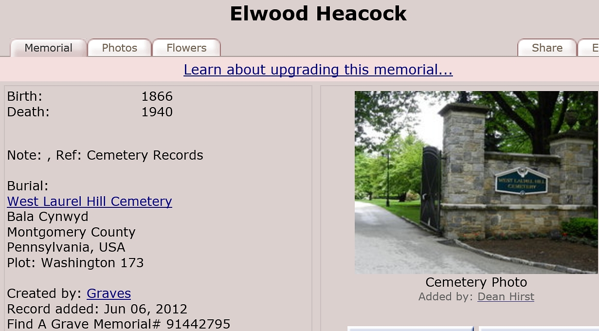 Ellwood Heacock