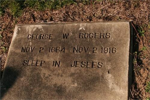 George W Rogers