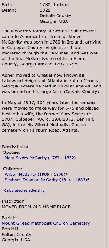 Abner McGarity