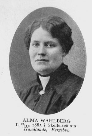 Alma Victoria Wahlberg