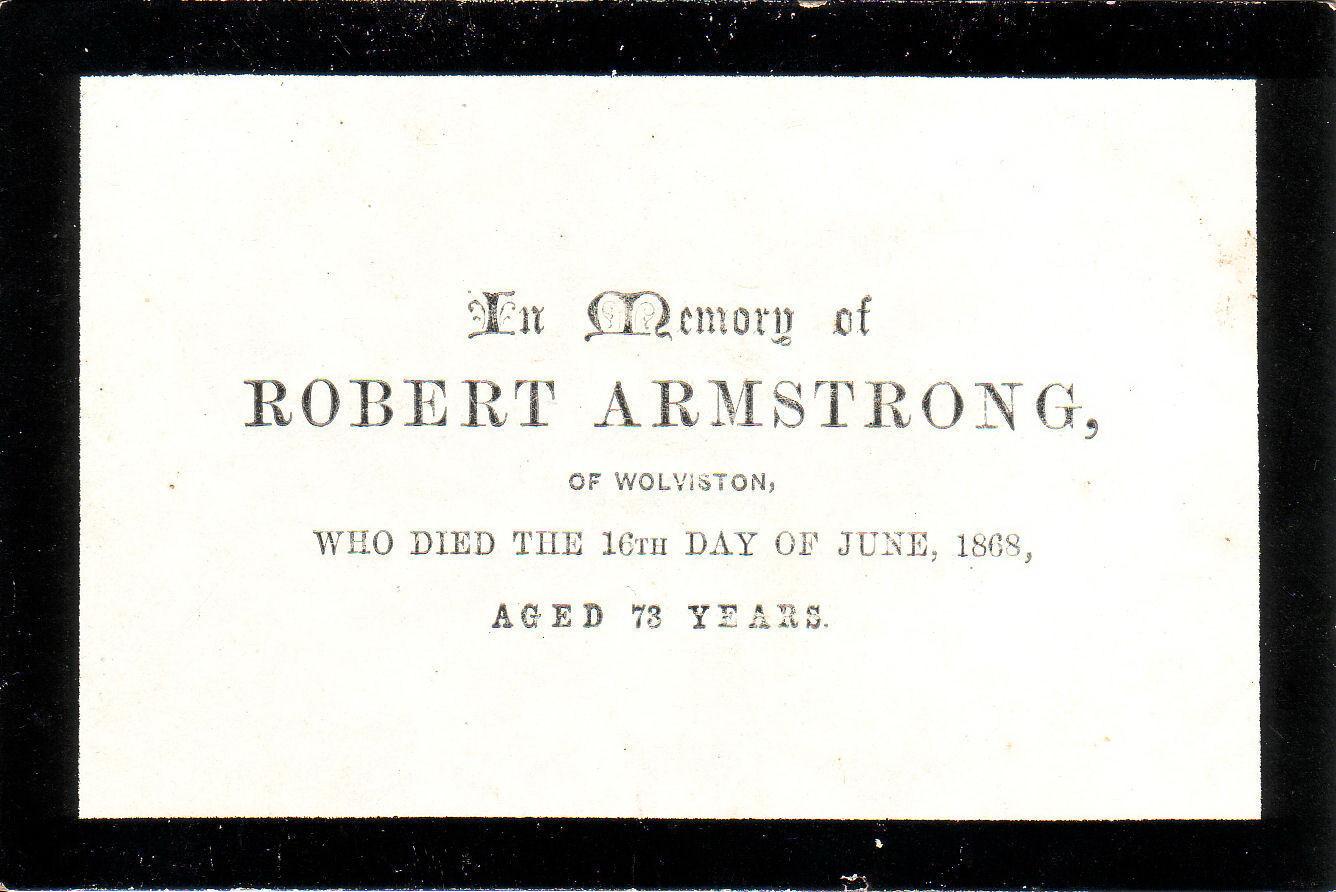 Robert Armstrong