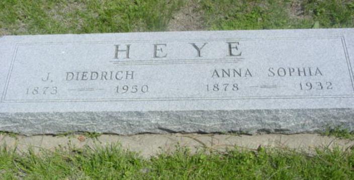 Gustav Dietrich Heye