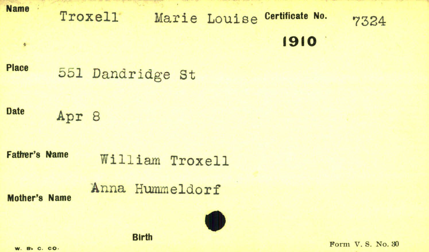 Louise Troxell