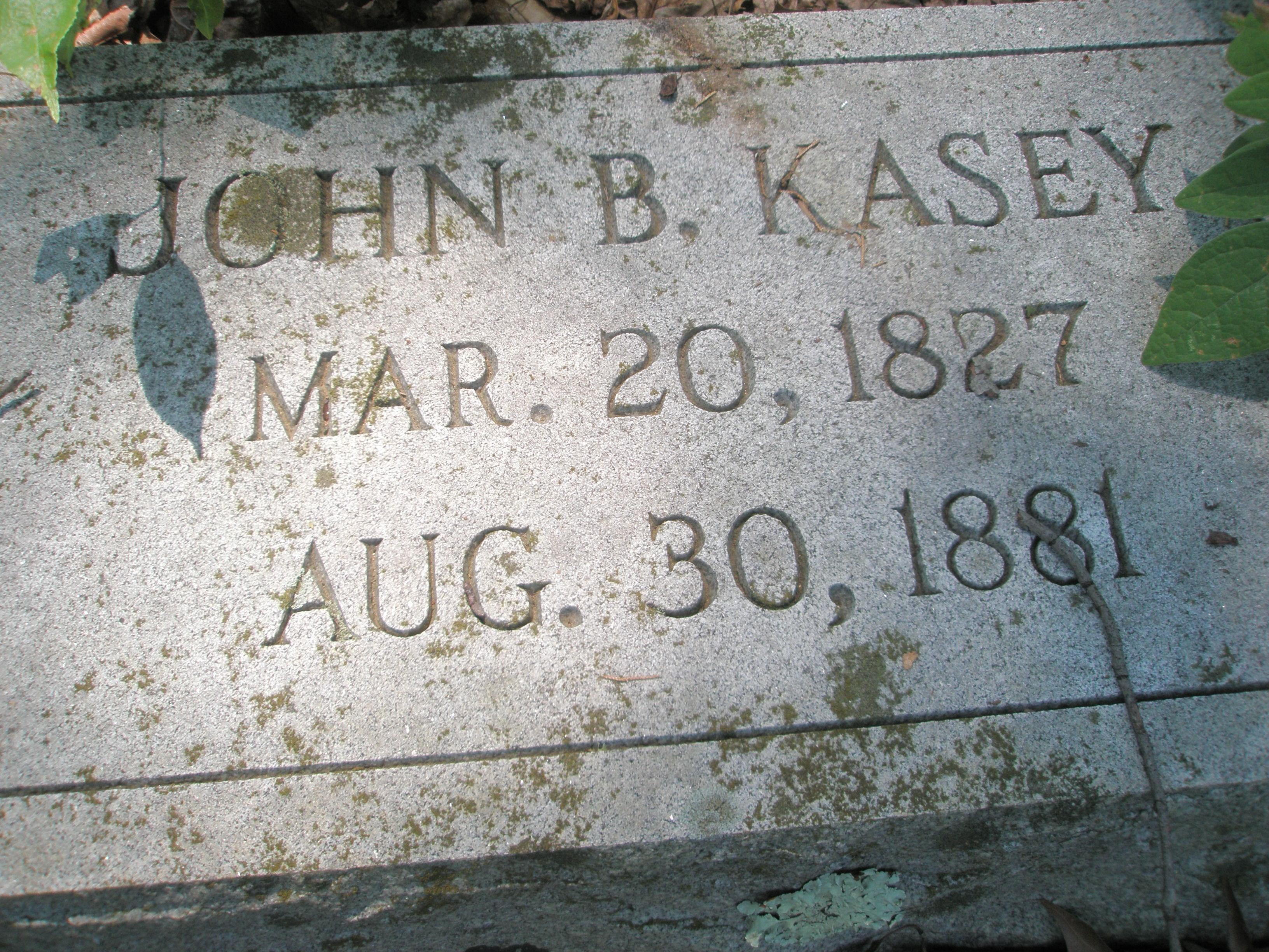 John G Kasey