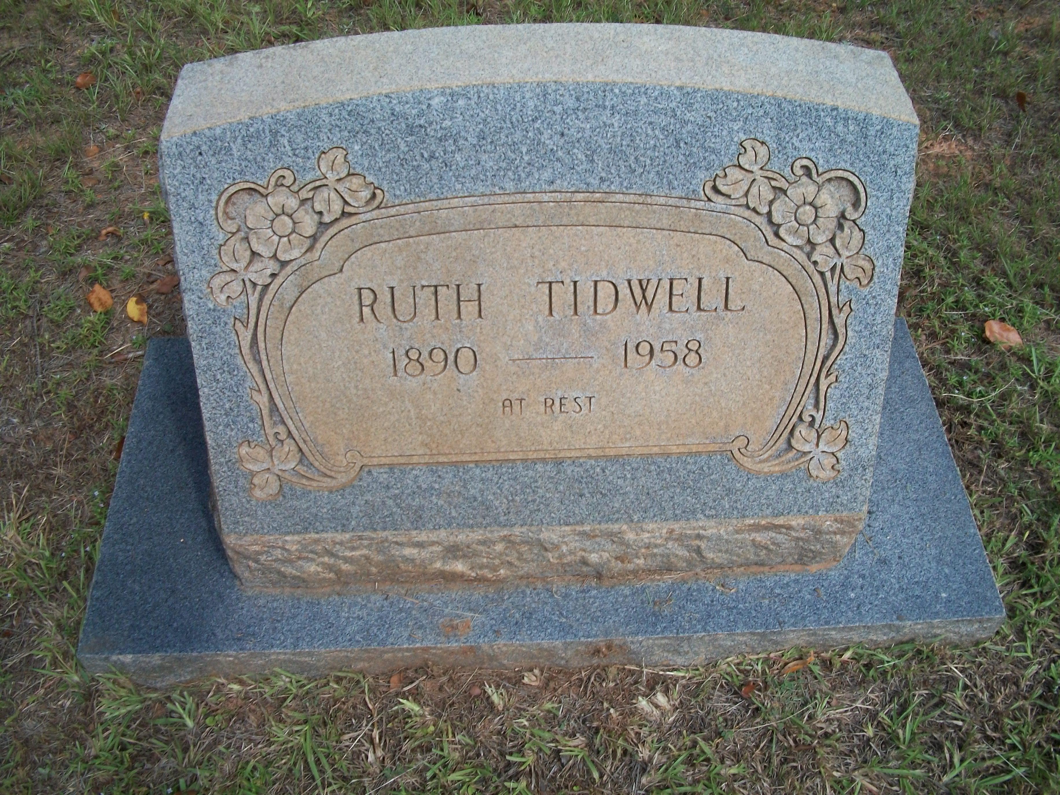 Ruth Tidwell